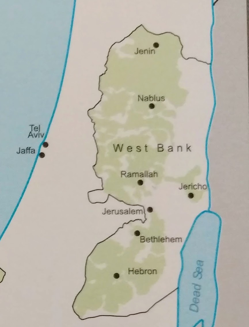 Figure 3 Palestinians have access to 12% of West Bank